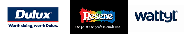 Dulux - Wattyl - Resene paints