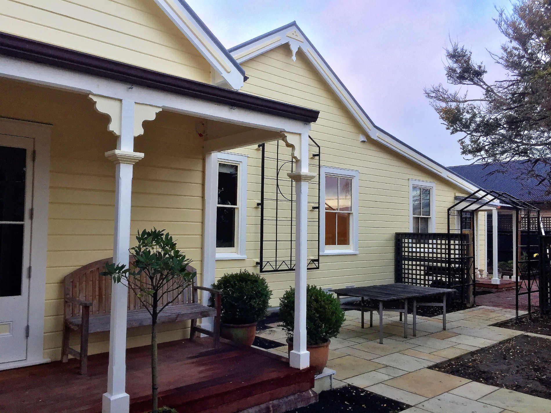 House exterior painted and renovated by G