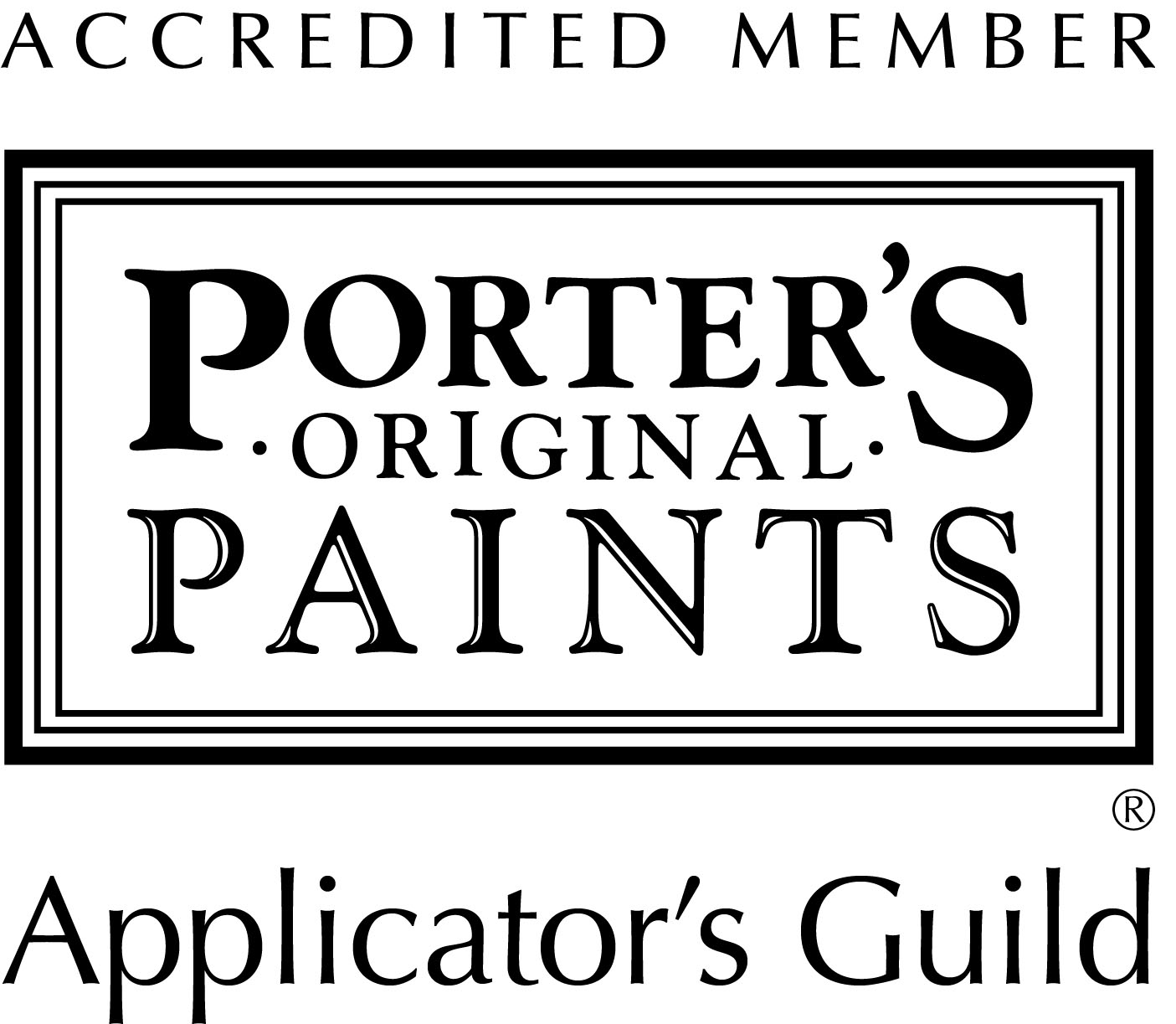 Porters Paints Accredited Member